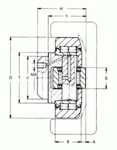 RODAMIENTO COMBINADO AXIAL 4.056 + AP 2-Q  REF. WINKEL 200.053.001